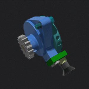 Motor Durchdreh-Blockiervorrichtung